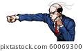 대머리 머리 숱, 탈모, 복싱, 스트레이트 펀치 때리고, 극화, 만화, 일러스트, 열혈 투쟁, 전투, 60069300