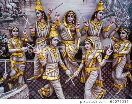 [新加坡風光]斯里克里希南神廟神像 60072355