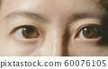 Macro shot of brown eye 60076105