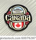 Vector logo for Canada  60076287