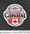Vector logo for Canada  60076288