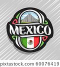 Vector logo for Mexico 60076419