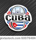 Vector logo for Cuba  60076484