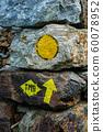 Signpost on the Tour du Mont Blanc 60078952