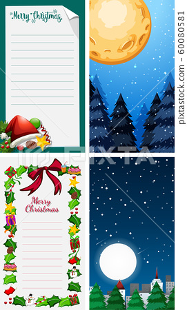 Background templates with christmas theme 60080581