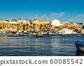 view of the port of Marsaxlokk city 60085542