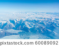 Denmark Greenland Greenland landscape with glaciers and snow 60089092