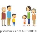 Illustration|Family|Family|Parents|Grandparents 60090018