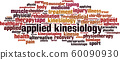 Applied kinesiology word cloud 60090930