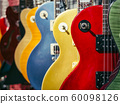 Electric Guitars Music instrument colorful design Collection 60098126