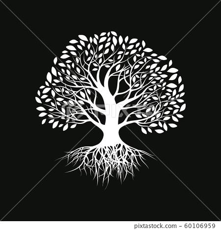Tree silhouette 60106959