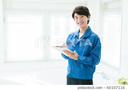 承包商房屋浴室浴室水 60107116