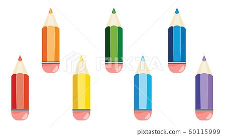 Colorful pencils design 60115999