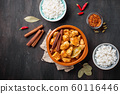 Chicken tikka masala. Traditional Indian dish 60116446
