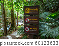 No Alcohol no pets warning tables in national park 60123633