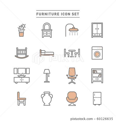 家具 圖標 Icon 60126635