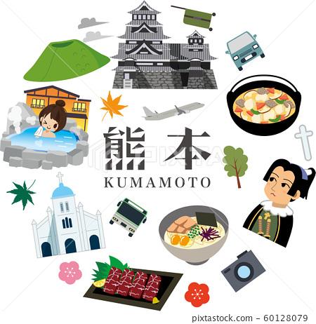 熊本觀光之旅 60128079