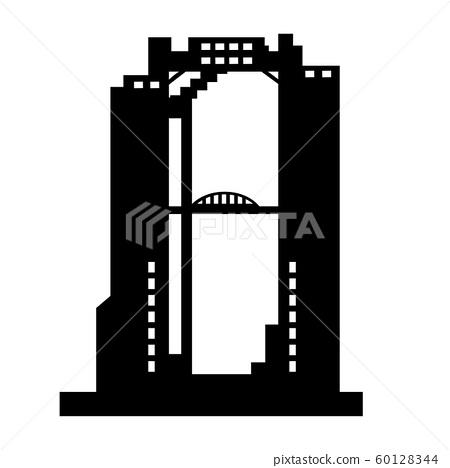 梅田藍天大廈(大阪的地標) 60128344