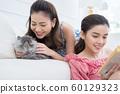 女性生活宠物 60129323