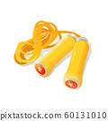 illustration of skipping rope on white background 60131010