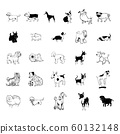 dog collection clipart 60132148