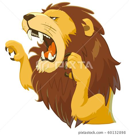 害怕的獅子 60132898