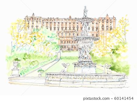 歐洲城市景觀,西班牙馬德里皇宮 60141454