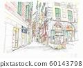 世界遺產城市景觀,意大利,熱那亞胡同 60143798