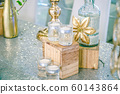 Wedding Welcome table with luxury decoration with 60143864