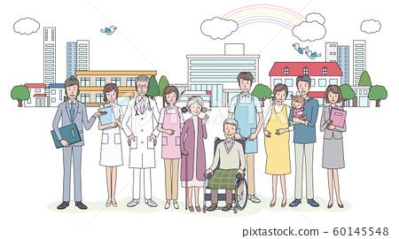 护理人员和医院人员 60145548