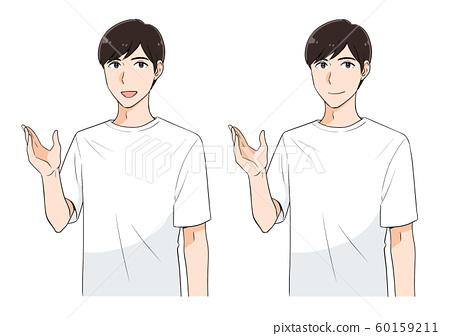 T-shirt men 60159211