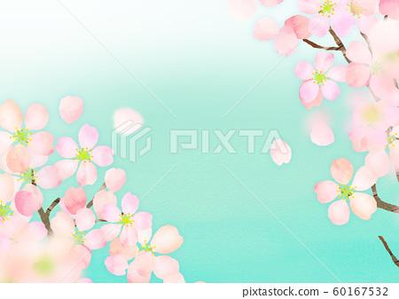 櫻花紋理背景素材 60167532