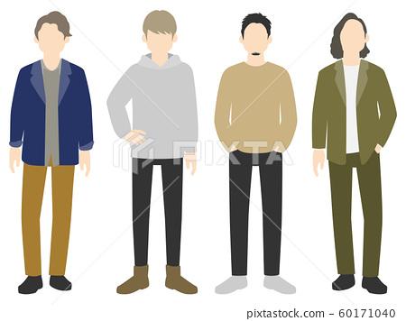 各种时尚男人01 60171040