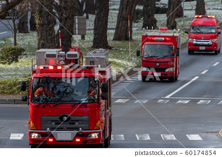 Sapporo Fire Department dispatch front 60174854