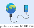 Smartphone  connect charge world.  60181554