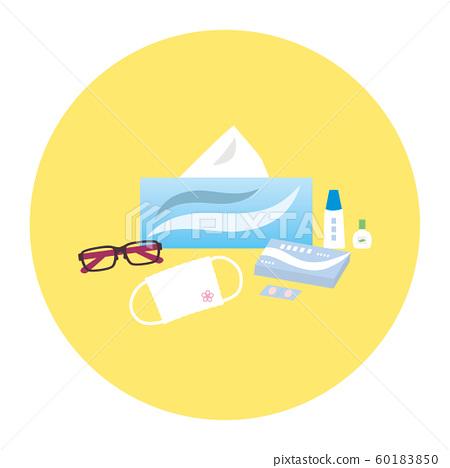 Material-Pollen allergy countermeasure item image 60183850
