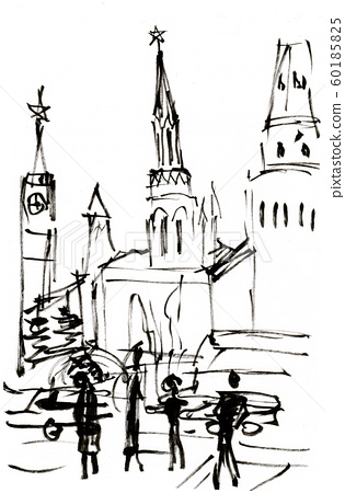 instant sketch, Moscow 60185825