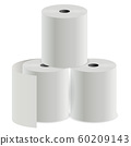 Toilet paper roll. Thermal register print cylinder 60209143