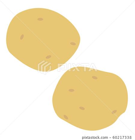 Illustration of cute potato 60217338