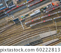 Railroad yard at station area 60222813