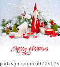 Christmas decorations cute figure elk and gnomes 60225123