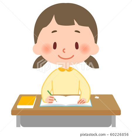 공부하는 초등학생 60226856