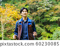 徒步旅行登山男 60230085