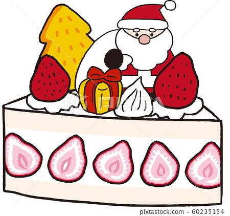 Christmas cake 60235154