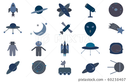 Science Icon Pack For Designers And Developers. Icons Of Launch, Rocket, Space, Startup, Astronomy, Solar, System, Science, Vector - Image 60238407