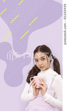 女性宣傳材料手機屏幕規格 60268499