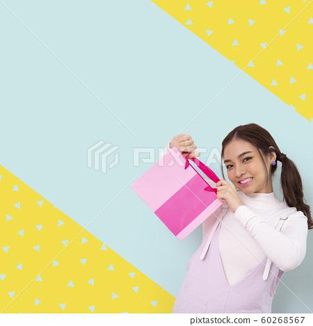 婦女宣傳材料方形橫幅 60268567