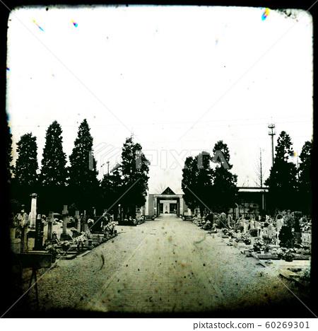 Cemetery in Settimo Milanese, Italy, 2018 60269301