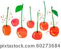 과일 체리 콜라주 60273684