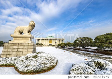 눈온날 국회의사당 60281575